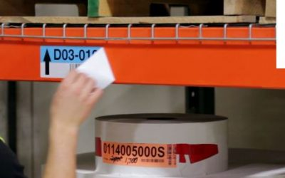 How to Choose the Right Rack Label for Your Warehouse Environment